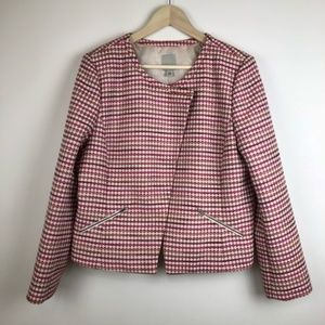 HALOGEN NORDSTROM XL SIDE ZIP BLAZER JACKET COAT